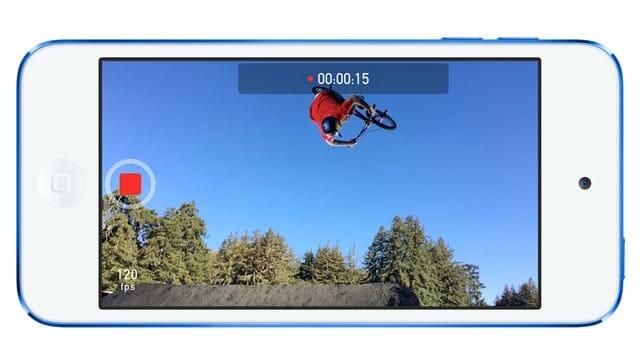 Nuevas opciones de grabación de vídeo en el iPod Touch: Cámara lenta