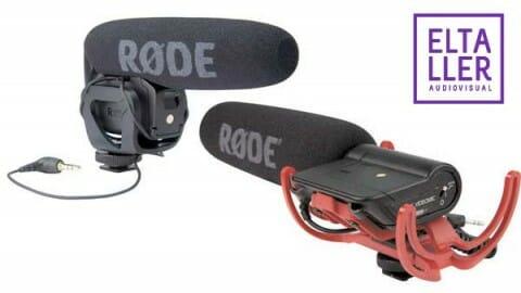Rode Videomic y VIdeomic Pro para vídeo