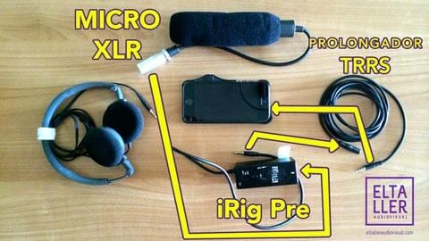 Conecta cualquier micro con salida Canon o XLR a tu DSLR o móvil - Aquí te dejo los esquemas de conexión