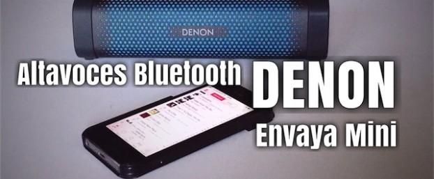 Altavoz bluetooth Denon Envaya Mini