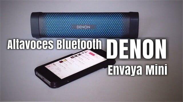 Denon Envaya Mini, los mejores altavoces bluetooth mini