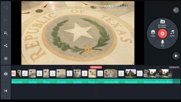 Haz vídeos con fotos y música con el editor de vídeo para Android Kinemaster