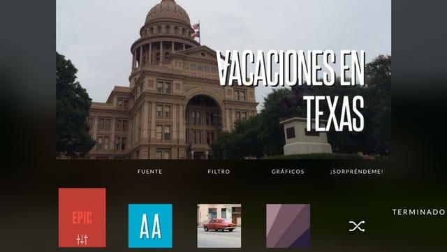 Replay App El mejor editor de vídeo automático para hacer vídeos con fotos y música muy fáciles en iOS