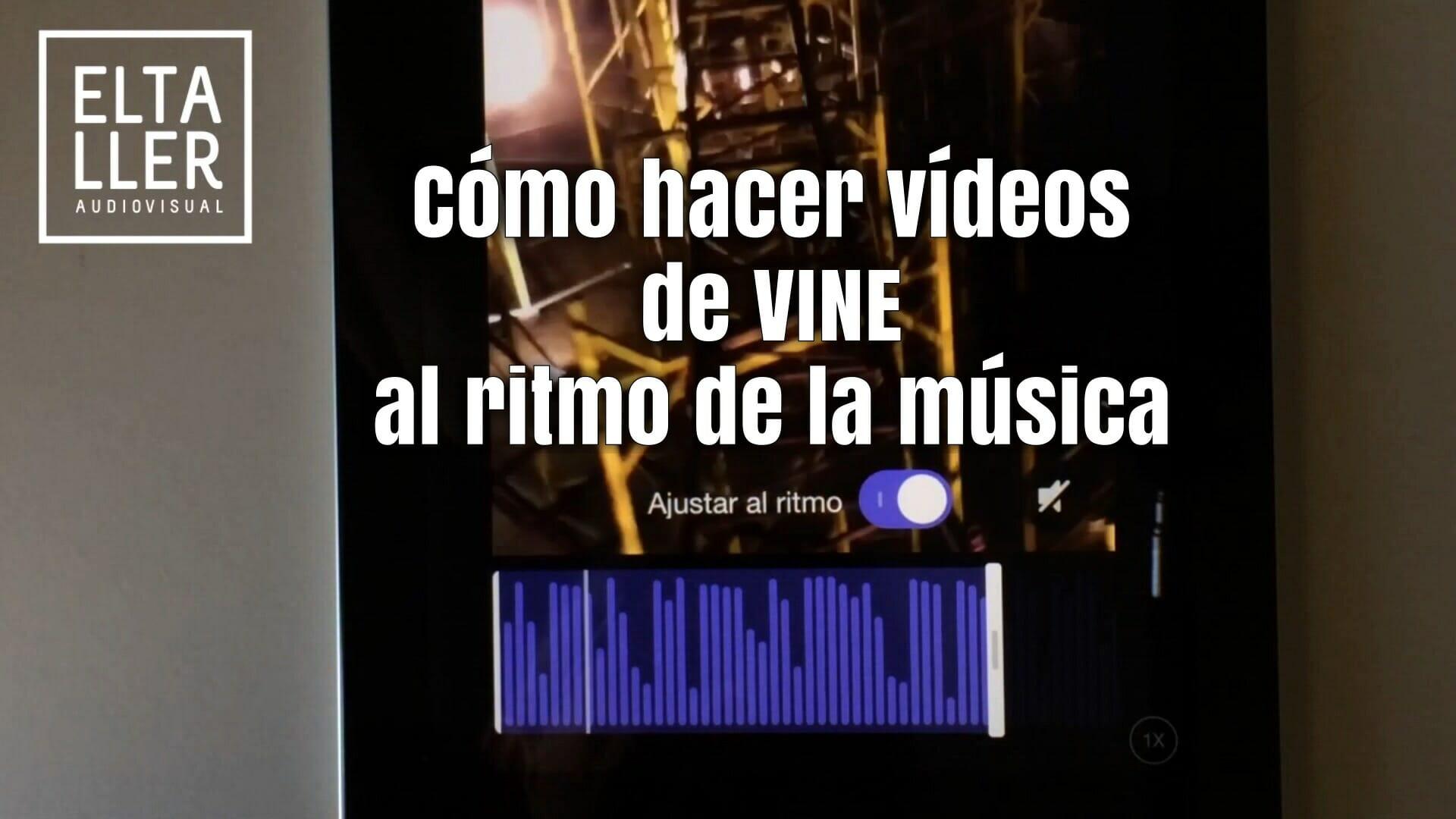 Cómo hacer vídeos de Vine al ritmo de la música