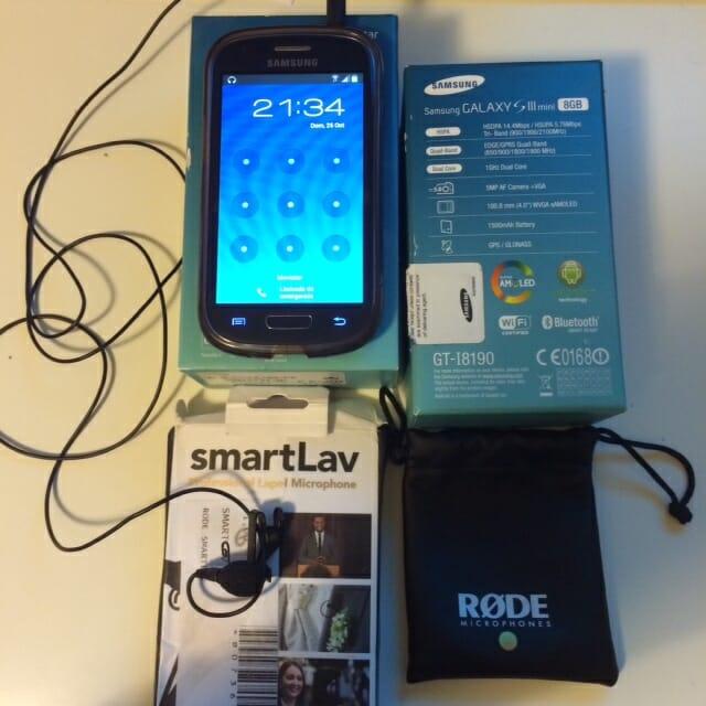 Samsung Galaxy S3 Mini + Smartlav