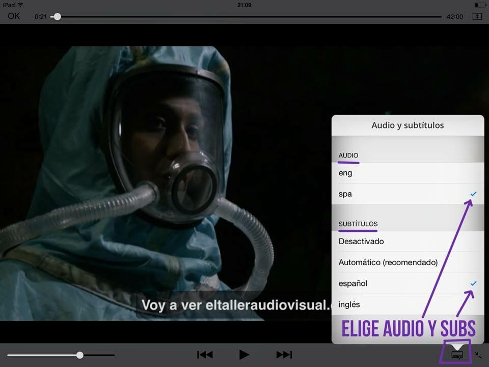 Mp4 es el formato de vídeo para iPad o iPhone - lo puedes elegir desde el Leef iBridge
