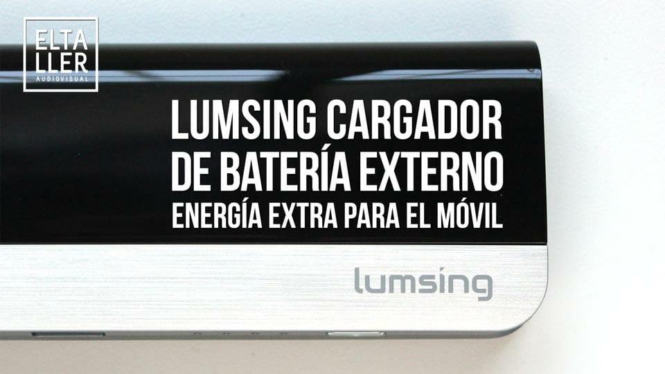 Cargador de batería externo para móvil Lumsing