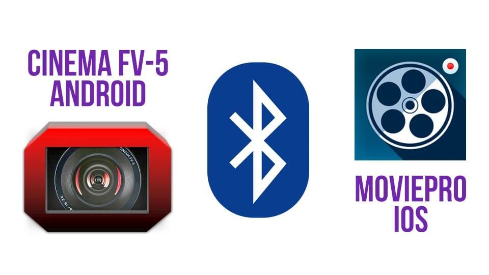 MoviePro y Cinema FV5 permiten grabar audio con micros bluetooth cuando haces vídeo con tu móvil para Android y para iOS