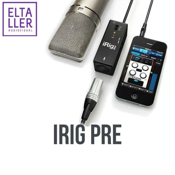 iRig Pre - Accesorios para grabar audio en móviles