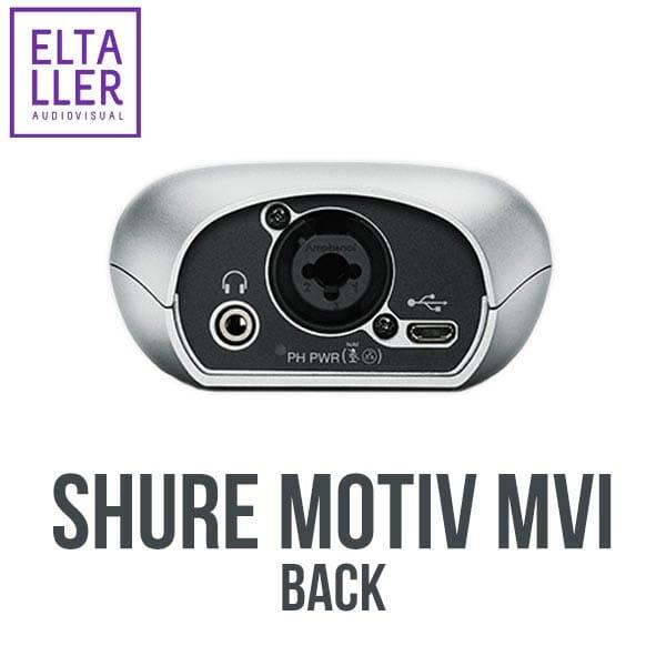 Shure MVi MOTIV- Accesorios para grabar audio en tus vídeos con móviles