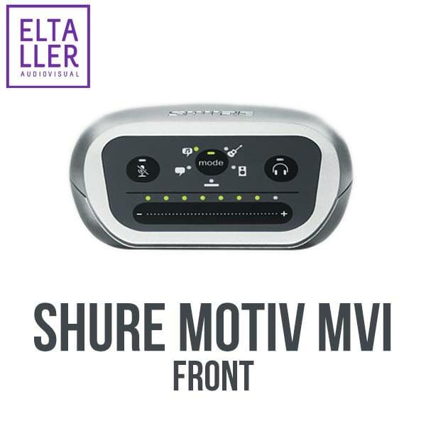 Shure MVi MOTIV - Accesorios para grabar audio en tus vídeos con móviles