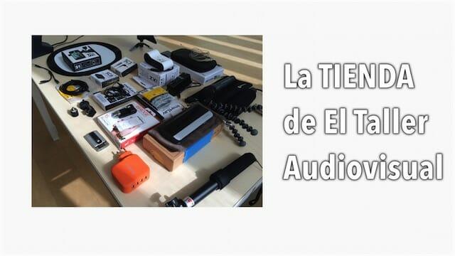 Tienda de accesorios para grabar vídeo con móviles