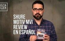 Cómo grabar audio digital en el móvil con Shure MOTIV MVi