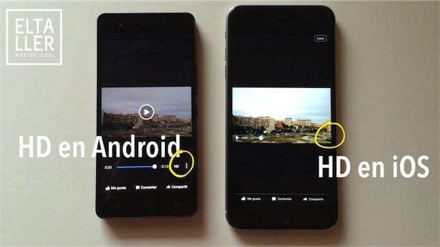 Cómo reproducir vídeos HD de Facebook en el móvil