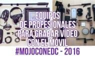 Accesorios para grabar vídeo con móviles #Mojoconedc 2016