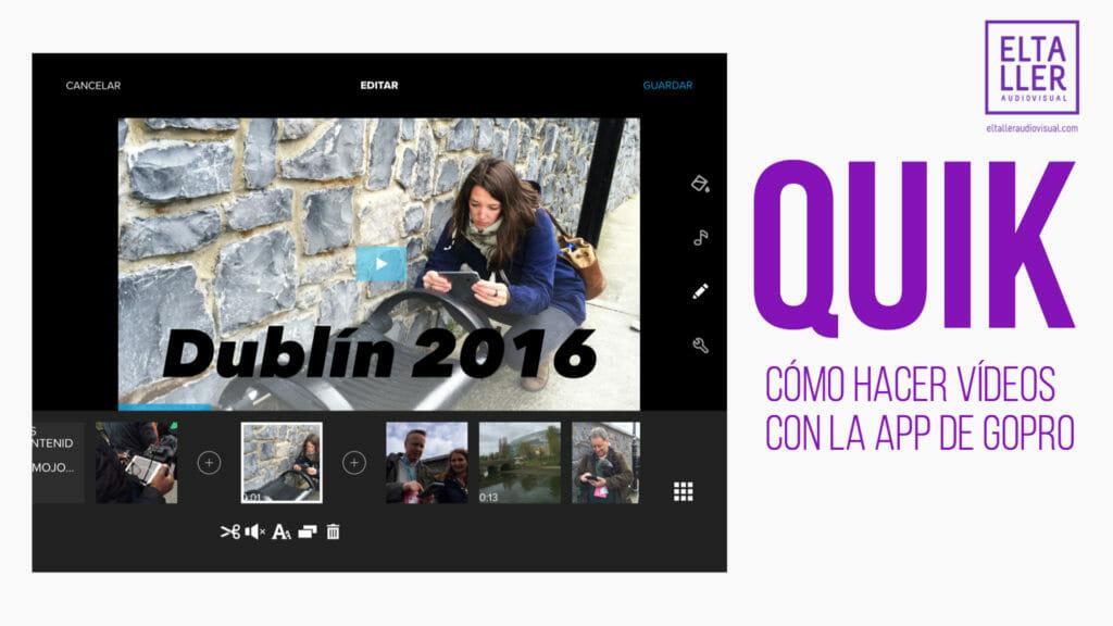 GoPro Quik aplicación de edición de vídeo
