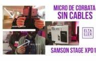 Micrófono de corbata sin cables para grabar vídeos Samson Stage XPD1