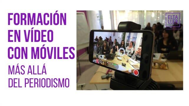 Formación en vídeo con móviles