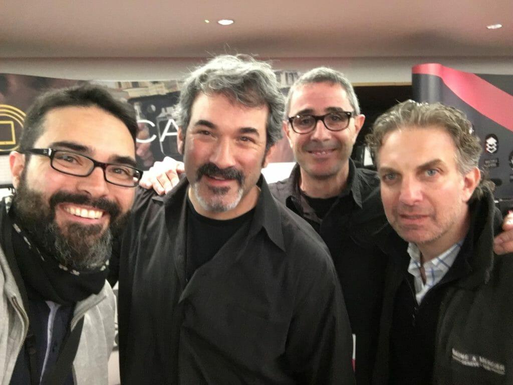 Foto con Josh Apter y Jon GOldberg de The Padcaster en MOJOCON 2016 - Dublín