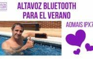 Altavoz inalámbrico bluetooth AOMAIS IPX7 para el verano