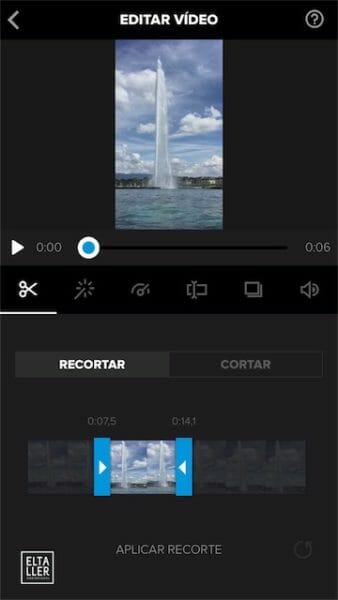 Vídeo vertical con Splice