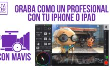 Vídeo móvil profesional grabando con MAVIS para iOS
