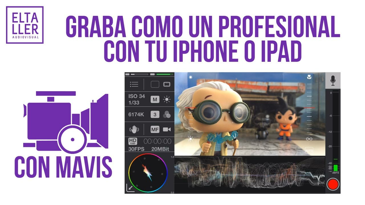 Review de MAVIS, la aplicación de vídeo móvil profesional para iPhone