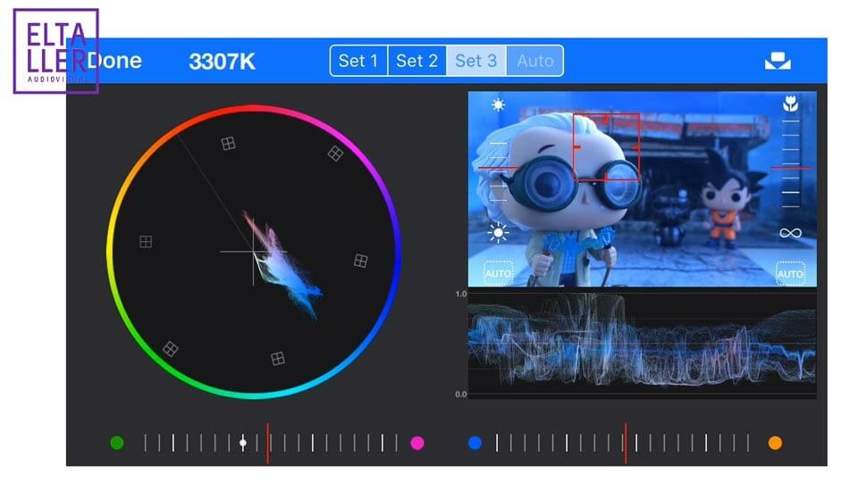MAVIS permite ajustar de manera muy fina el color en tus grabaciones con móvil