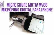 Micrófono direccional para móvil Shure MOTIV MV88