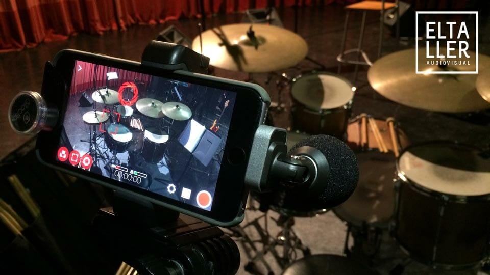 Graba con el mejor sonido de micrófono digital para móviles con el Shure Motiv MV88 en tu app de vídeo favorita, como por ejemplo MAVIS o FilmicPro