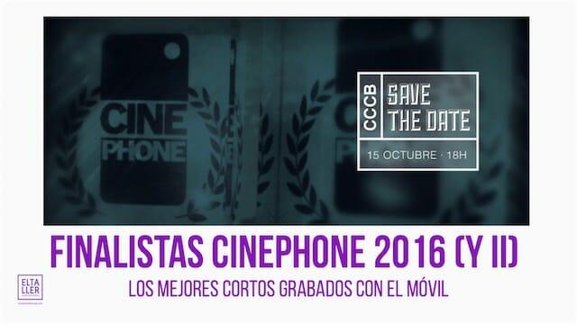 Cinephone, festival de cortos grabados con móviles