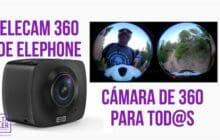 Cámaras 360 baratas: así es la Elecam 360 de Elephone