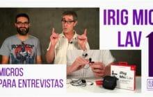 Micrófonos para grabar entrevistas con móviles iRig Mic Lav