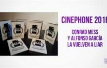 Ganadores Cinephone 2016: Conrad Mess y Alfonso García la vuelven a liar