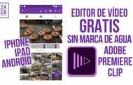 Editor de vídeo gratis sin marca de agua iOS y Android
