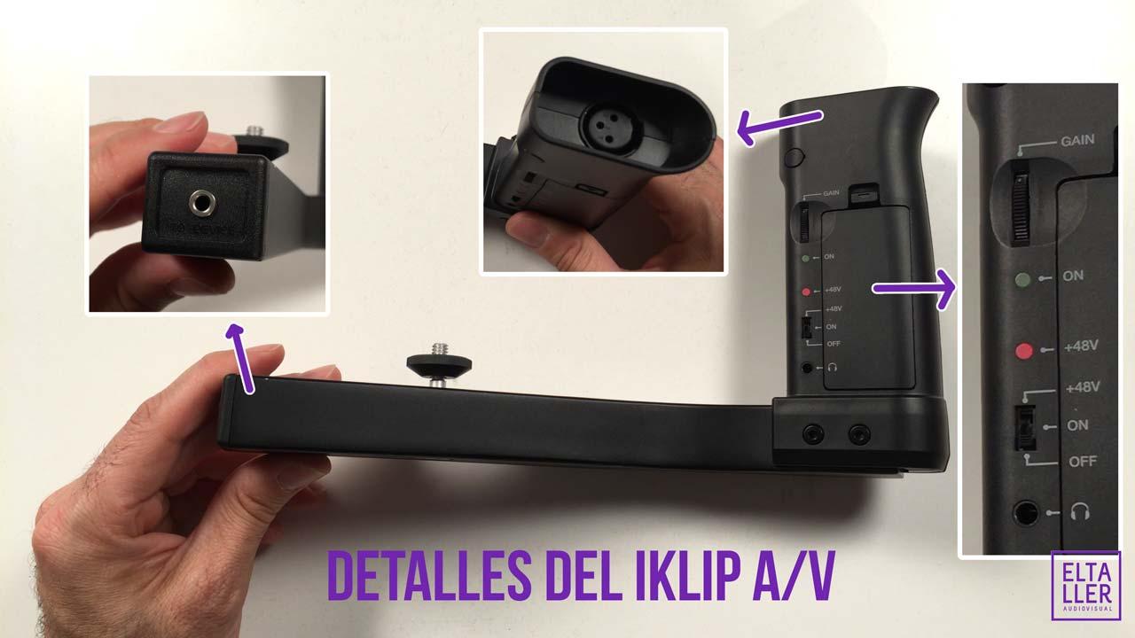 iKlip AV adaptador de audio y soporte para móviles es un accesorio todo en uno