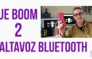 Altavoces bluetooth UE Boom 2… con una app espectacular