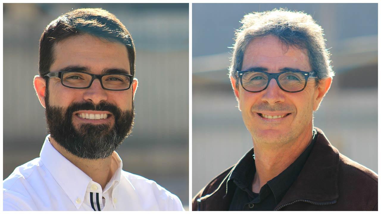 El Equipo YOS CONTENIDOS - El Taller Audiovisual, Javier Cabrera y Oscar Oncina