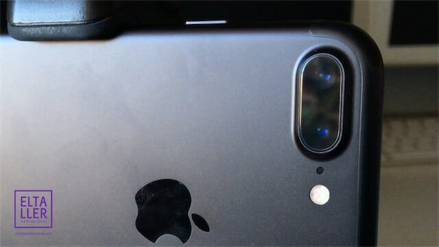 Dual camera o cámara doble del iPhone 7Plus