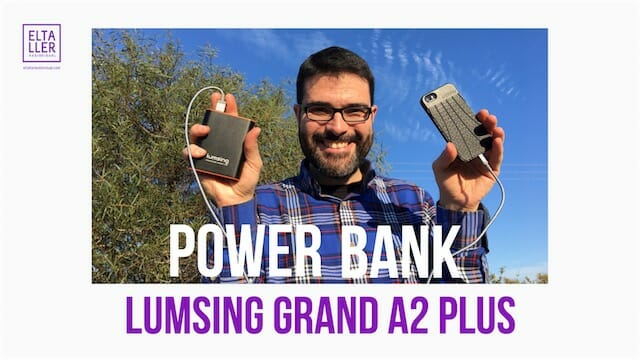 POwer bank Lumsing Grand A2 Plus