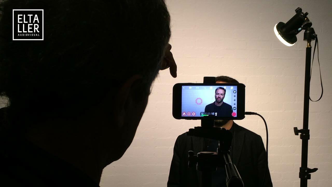 El Taller Audiovisual crea vídeos para compartir en Redes Sociales