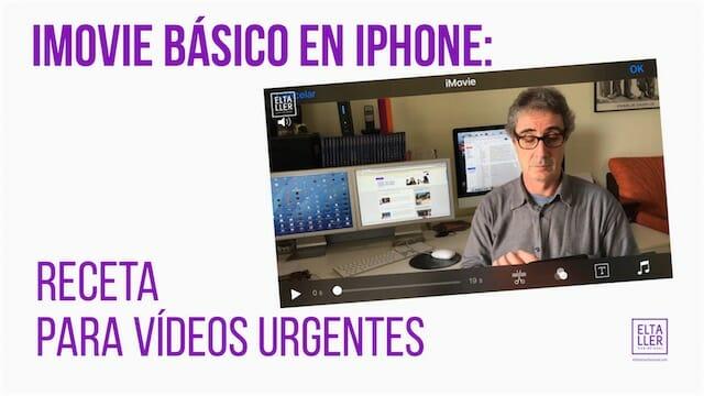 iMovie básico, editor de vídeo para iPhone
