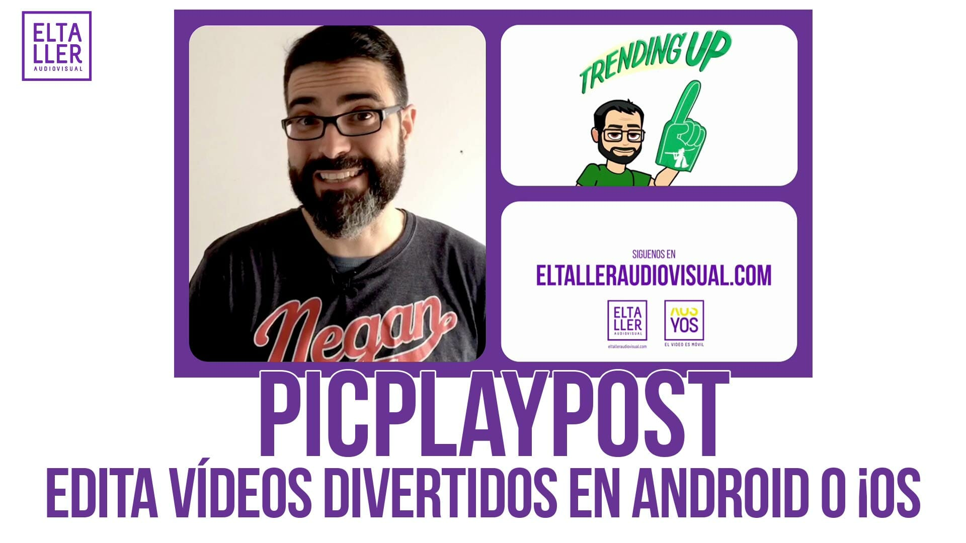 El videocollage es una manera deivertida y fácil de hacer vídeos con el móvil, te lo contamos con PicPlayPost y te explicamos a utilizarlo