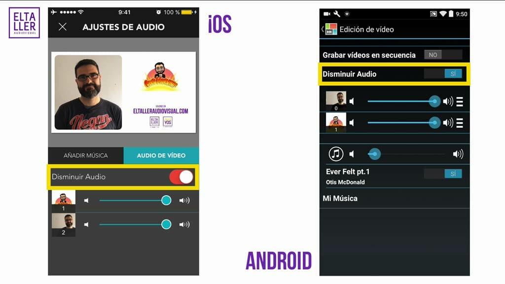 Puedes editar el sonido de los vídeos en PicPlayPost y añadir música para tu videocollage