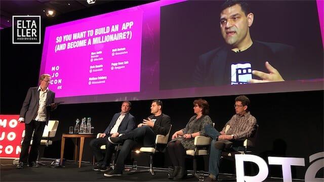 Neill Barhma, CEO de Filmic Pro, en Mojocon 2017
