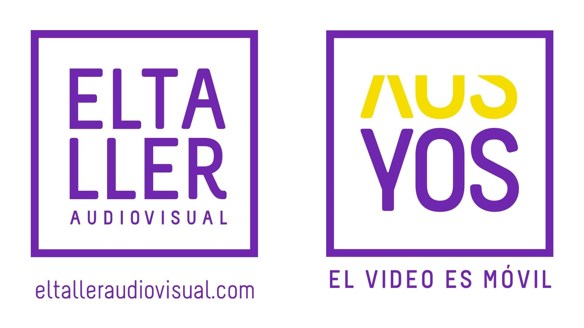 Logo del blog para hacer vídeos con móviles y celulares El Taller Audiovisual y YOS Contenidos