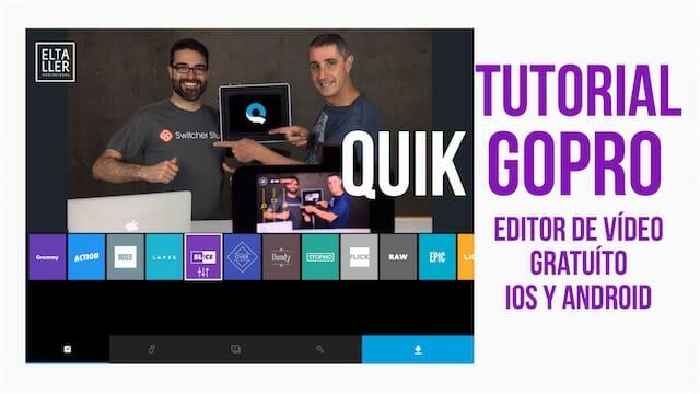 Quik GoPro, editor de vídeo para móviles y PC