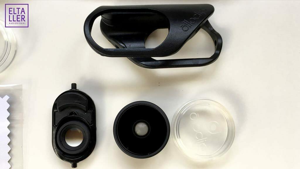 Olloclip Core Lens set - Detalles de las lentes