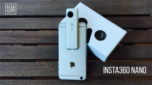 Insta360 Nano, cámara 360 para iPhone