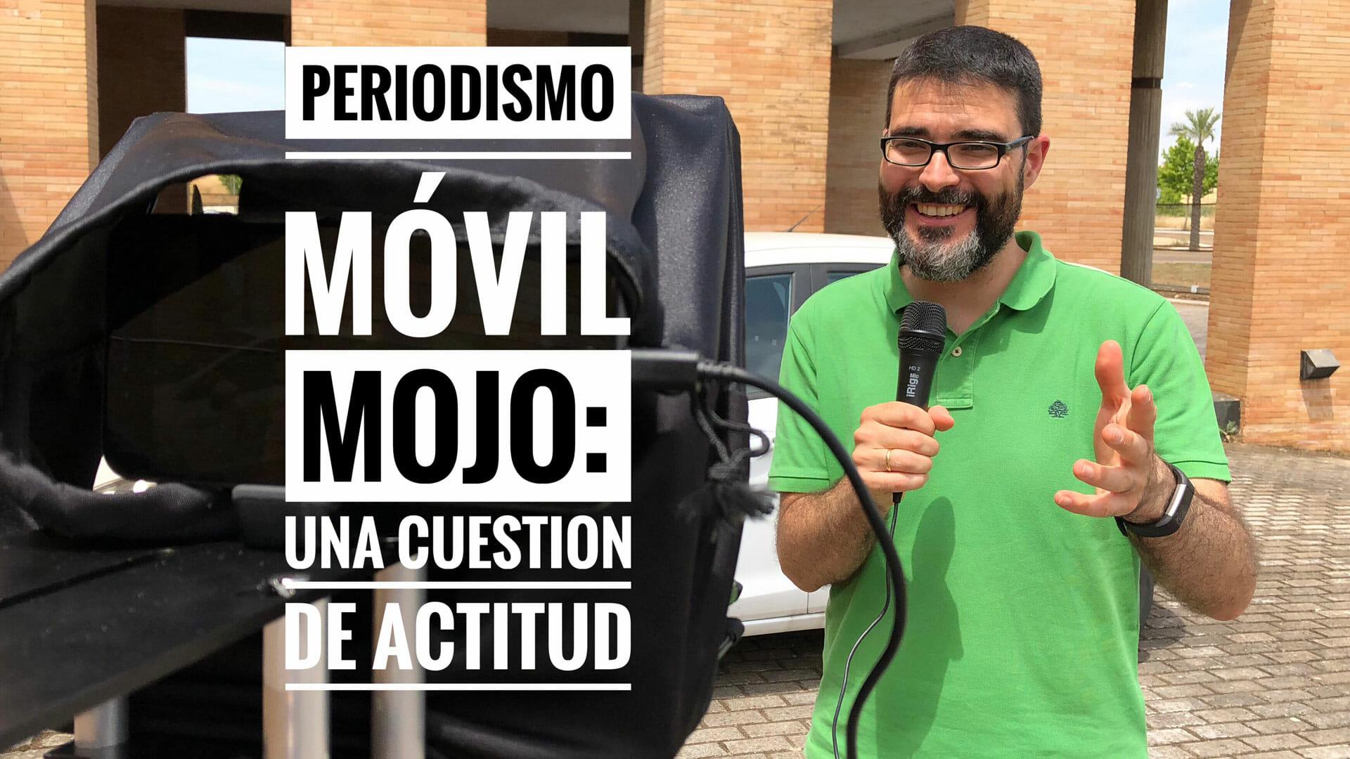 Entrevista sobre MOJO a Matias Amigo y Urbano García, expertos en periodismo móvil. Realización multicámara con la app Switcher Studio